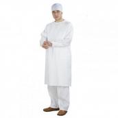 Халат хирурга на завязках