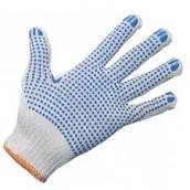 Перчатки трикотажные с ПВХ точка