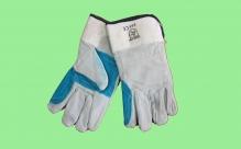 Перчатки спилковые с наладонником